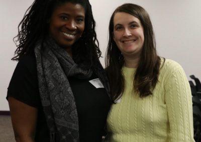 SWAC Members Tamika L'Ecluse & Rae Vander Werf